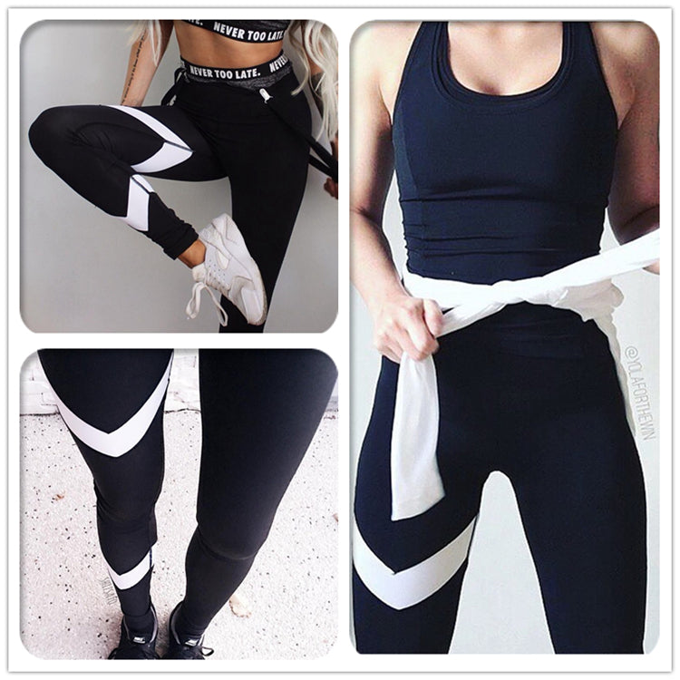 White Arrow Fitness Yoga Pants