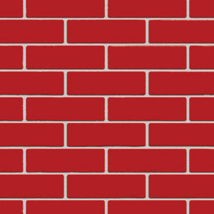 AUSTRAL BRICKS BURLESQUE LUSCIOUS RED DOUBLE HEADER (SOLD IN FULL PACKS OF 512 ONLY)