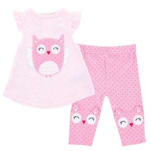 Baby Tunic and Leggings - Owl