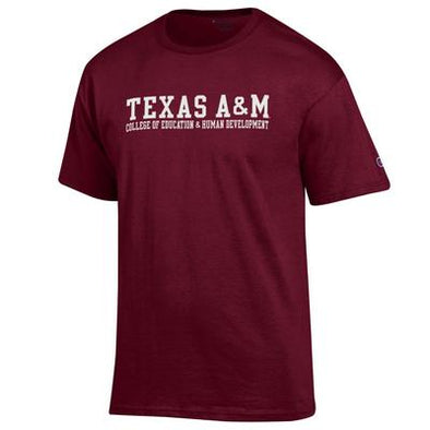 Texas A&M College of Education & Human Development Champion T Shirt