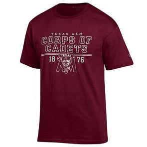 Texas A&M Corps of Cadets Champion Jersey T Shirt