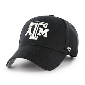 Texas A&M 47 Brand Black MVP Adjustable Hat