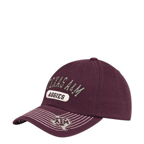 Texas A&M Adidas Adjustable Slouch Hat - Maroon