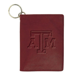 Texas A&M Aggies Leather ID Holder