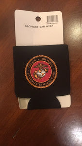 UNITED STATES MARINES CAN HOLDER NEOPRENE BLACK TACTICAL