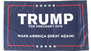 12 TRUMP I OFFICIAL 2016 CAMPAIGN FLAG 3X5 100D FLAGS BY THE DOZEN WHOLESALE PER DESIGN!