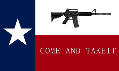 Texas M4 Come and Take It 2x3ft Nylon 150D Flag Rough Tex