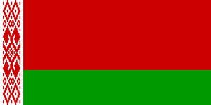 Belarus Flag 3x5ft Poly