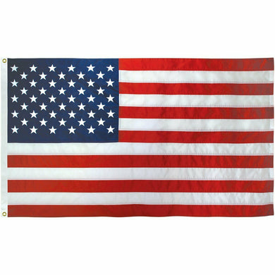 USA 3'X5' EMBROIDERED 210D NYLON FLAG