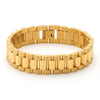 14k Gold Watch Link Bracelet