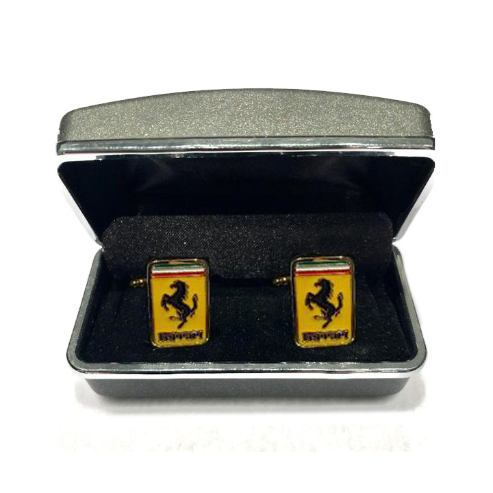 Ferrari Logo Cuff Links