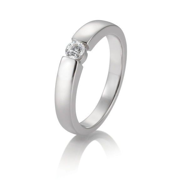 Diamantring · Spannringoptik · 0,20ct · 41858690