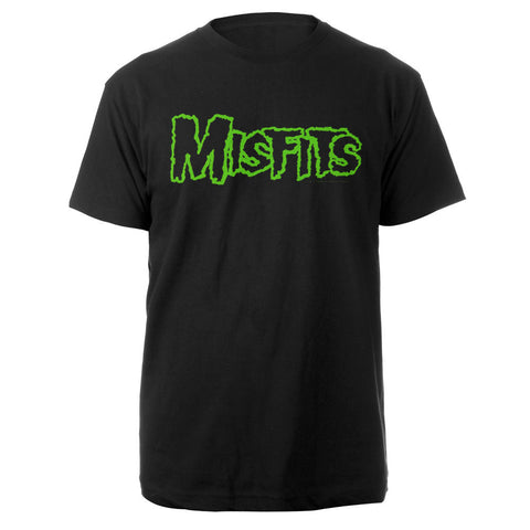 Misfits Green Logo Tee-The Misfits