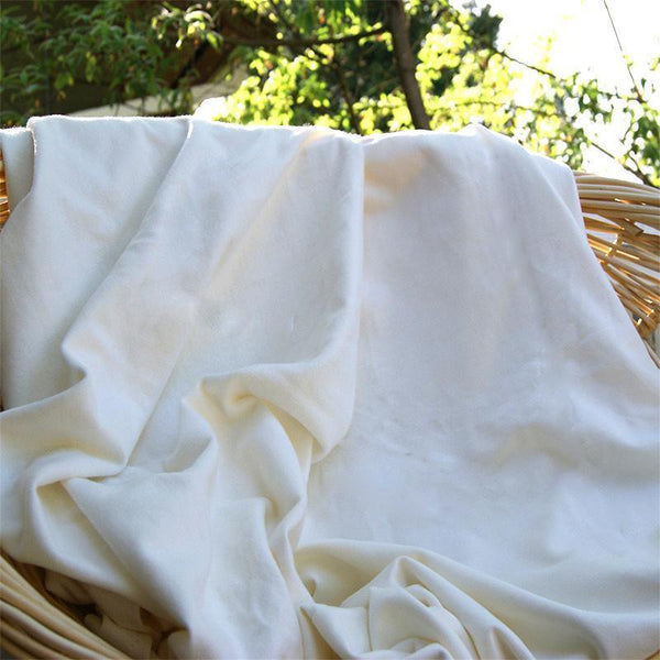 Bamboo Organic Cotton Heavy Fleece Fabric 400 GSM (HOBF) Rolls from $9.26/yard - Kinderel Bamboo Fabrics
