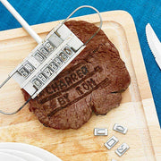 Creative Barbecue Meat Branding Iron - The Modern Travelers Store