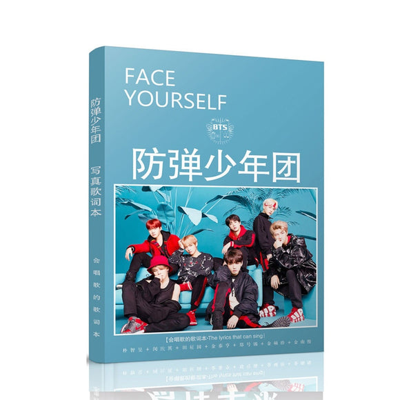 kpop BTS bangtan boys photo album k-pop polaroid photo album poster k pop bts wings Photo lyrics new album poster Bookmarks book