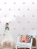 Tee-Pee Wall Pattern Decals