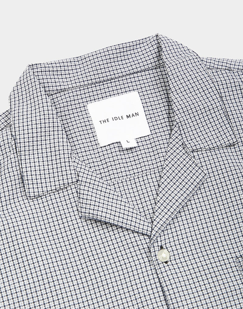 The Idle Man - Mini Check Black