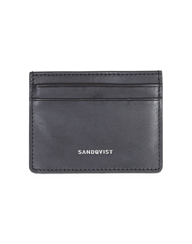 Sandqvist - Fred Leather Card Holder Black