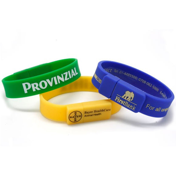 Wristband USB Drive - Apartment Promotion