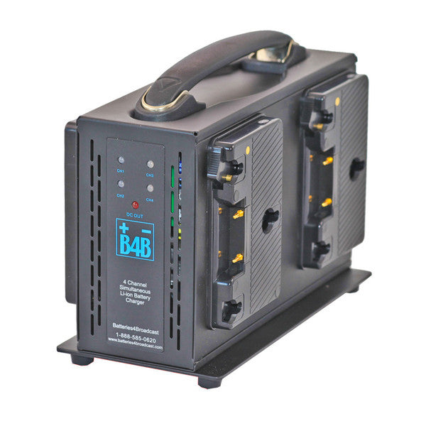B4B - G-Mount 4-Bay Charger
