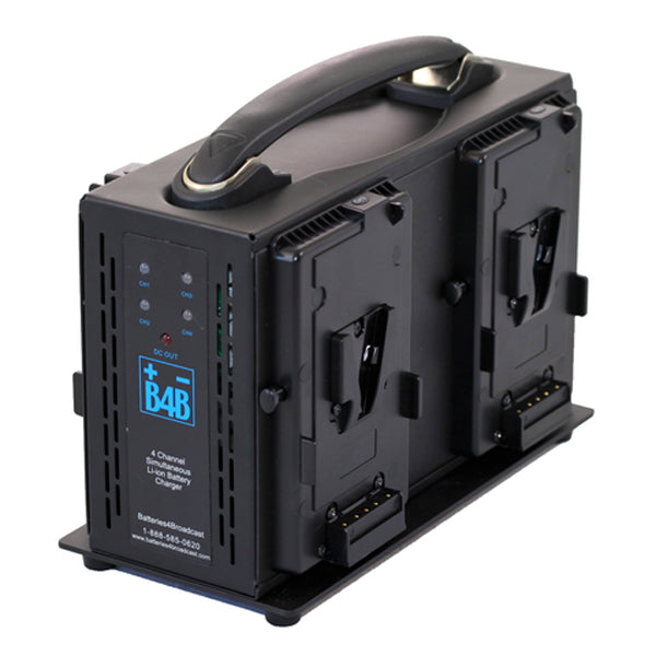 B4B - V-Mount 4-Bay Charger