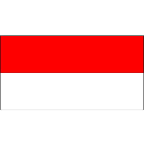 Indonesia Flag 1800 x 900mm