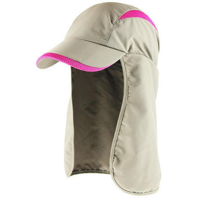 Outdoor Hat - Bona - Performance Outdoor Hat With Sun Cape