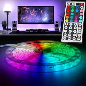 LED Light Strips with RGB Remote