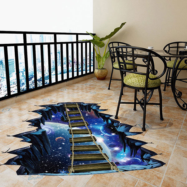 Cosmic Walkway Sticker
