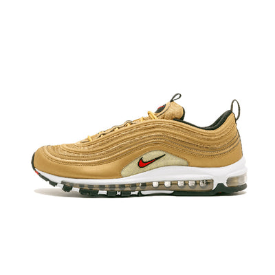 Original New Arrival Authentic NIKE AIR MAX 97 Metallic Gold Breathable Men's Running - GTG