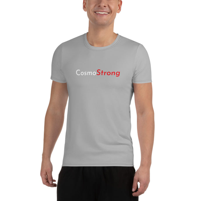 Men's Athletic T-shirt - Cosmo Strong Grey