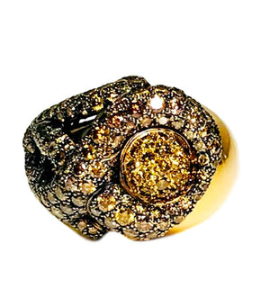 De Grisogono Diamond Flower Ring