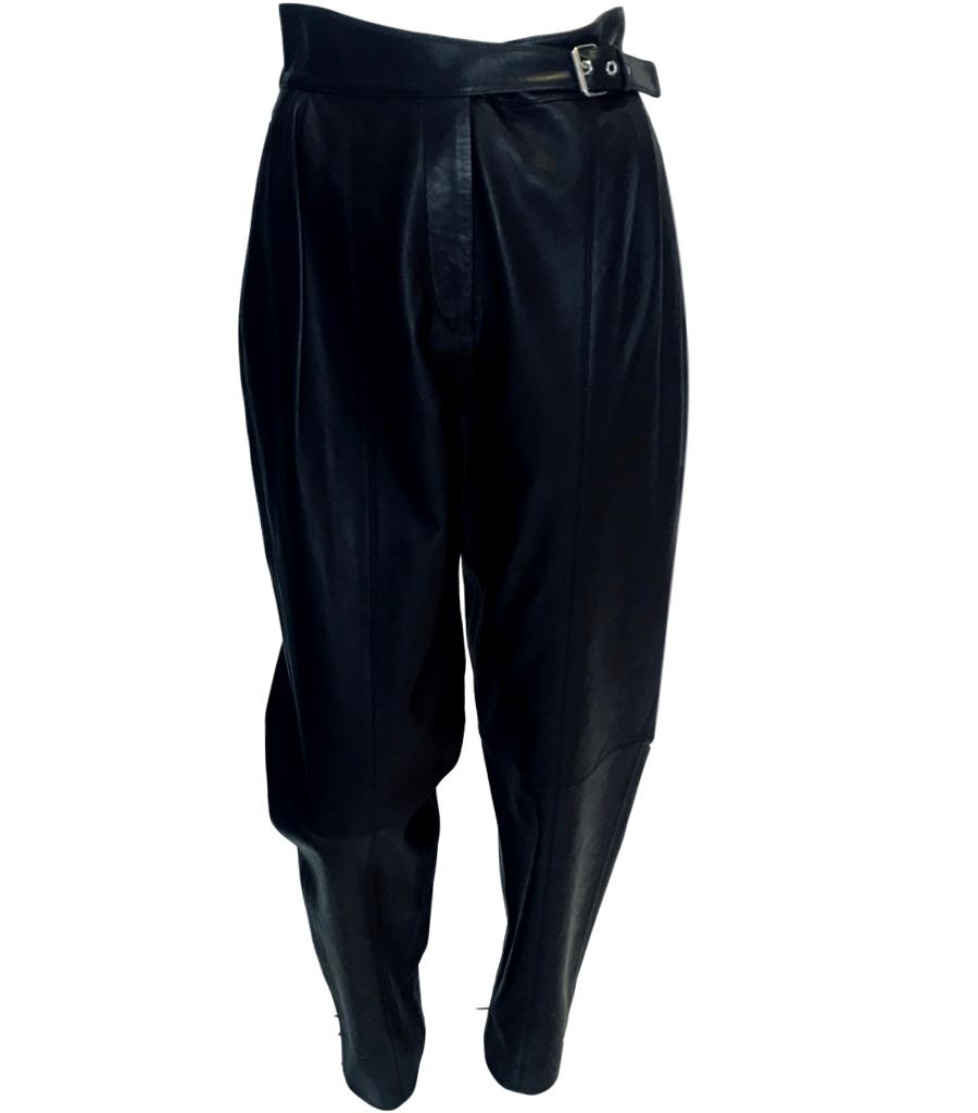 Michael Kors Leather Trousers. Size 8US