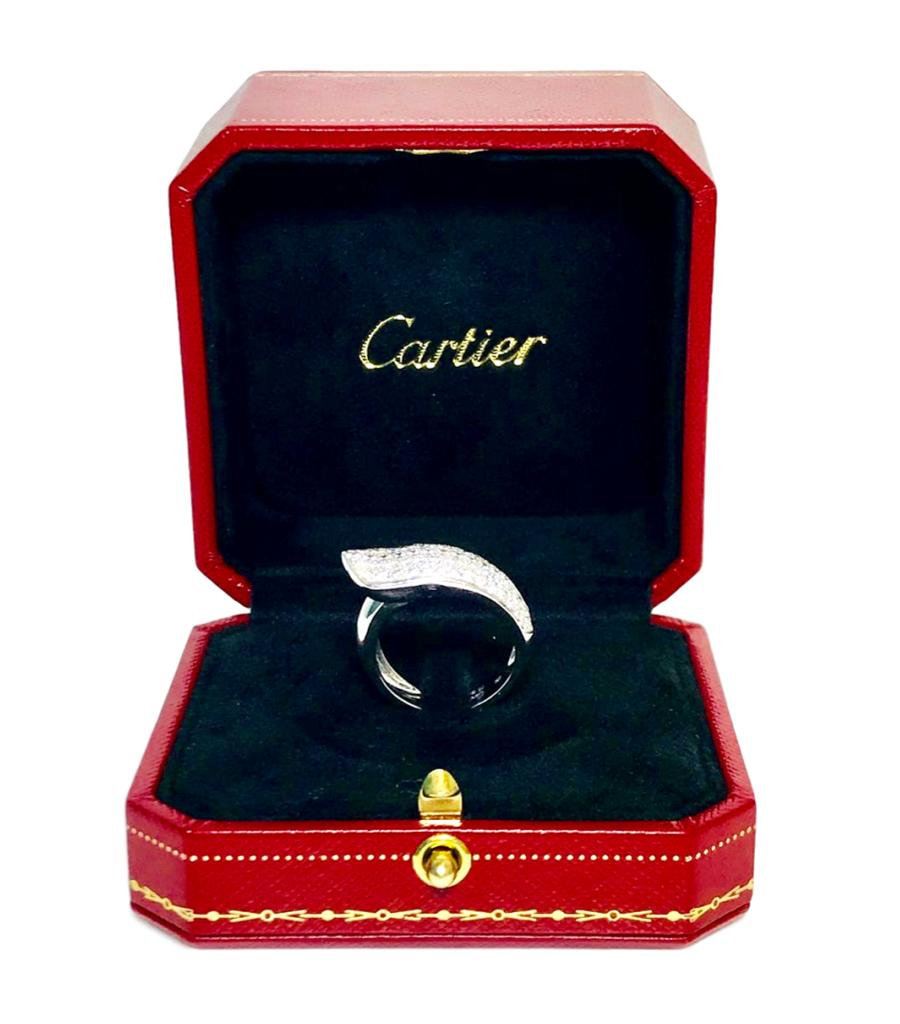 Cartier Ruben Diamond Ring