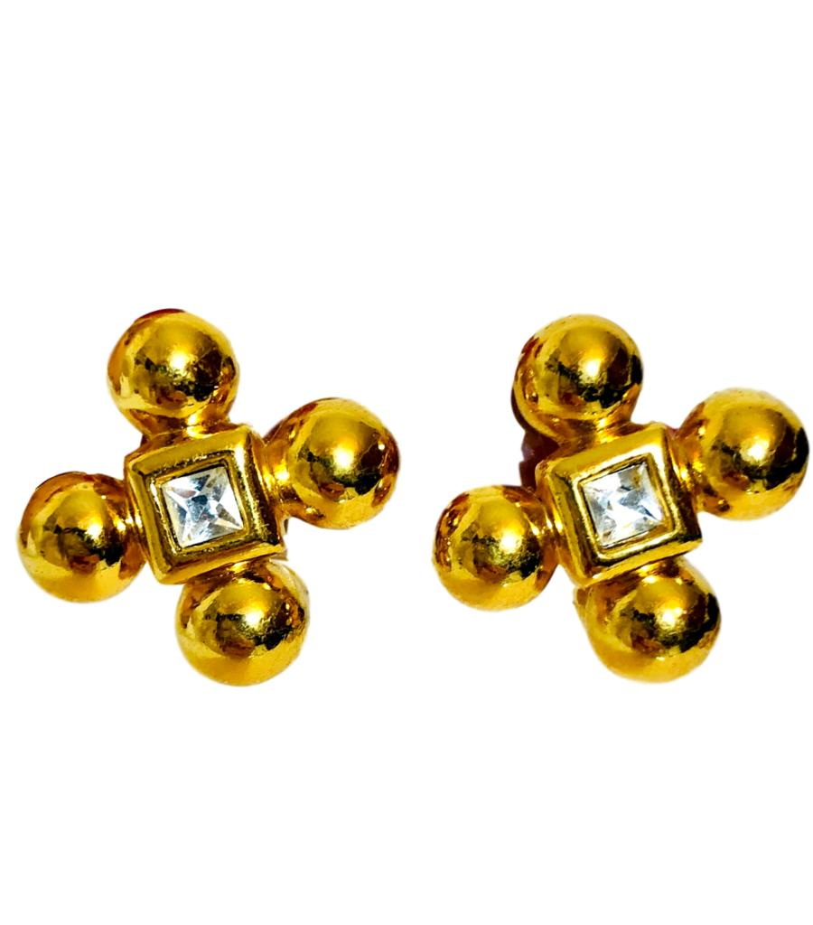 YSL Vintage 1980's Earrings