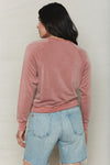 Sienna Tencel Cropped Sweatshirt