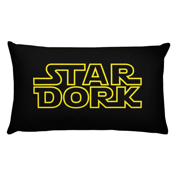 Star Dork - Rectangular Pillow