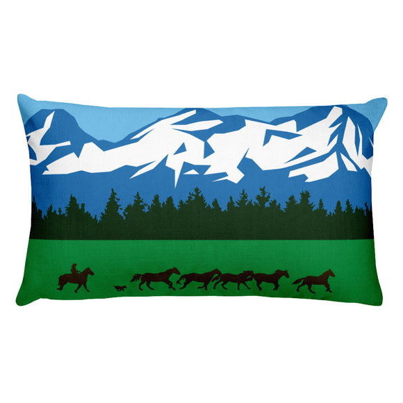 Sisters Oregon - Rectangular Premium Pillow