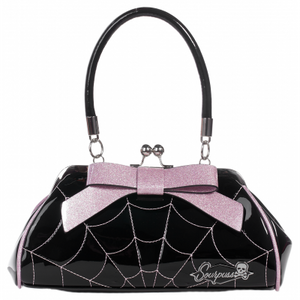 Floozy Spiderweb Purse Pink