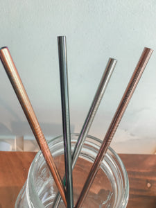 Individual Colored Straws