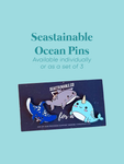 Seastainable Ocean Pins