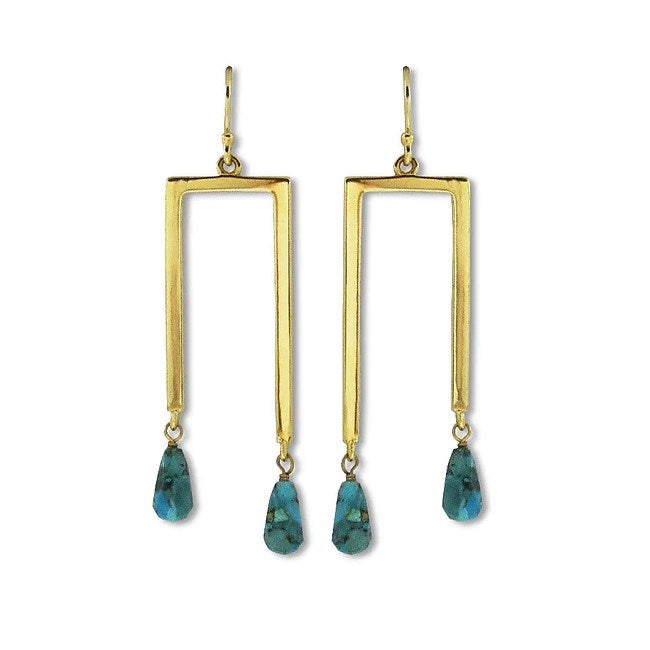 Bien-aimé Gemini Earrings