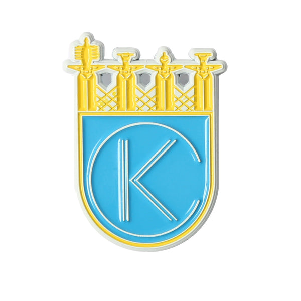 Bozz Prints KC Royalty Enamel Pin