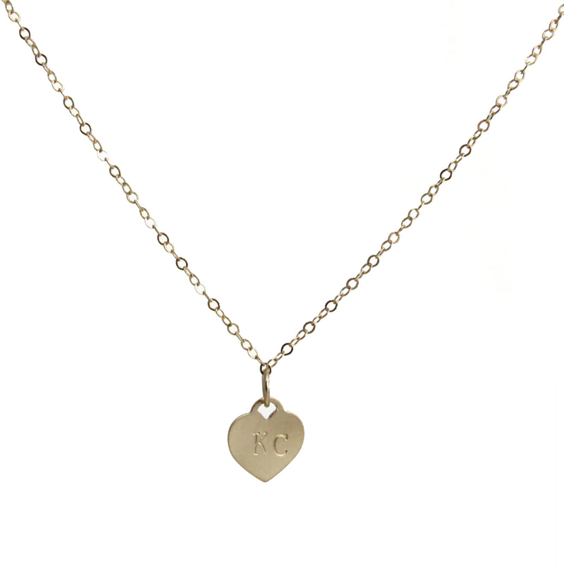 Coki Bijoux KC Heart Necklace
