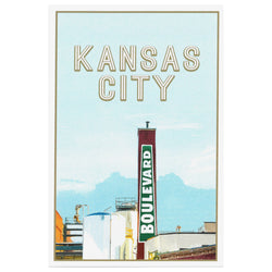 KC Landmarks Project Boulevard Brewery Print