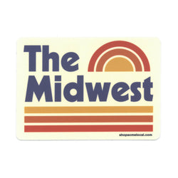 Super Cub The Midwest Sticker