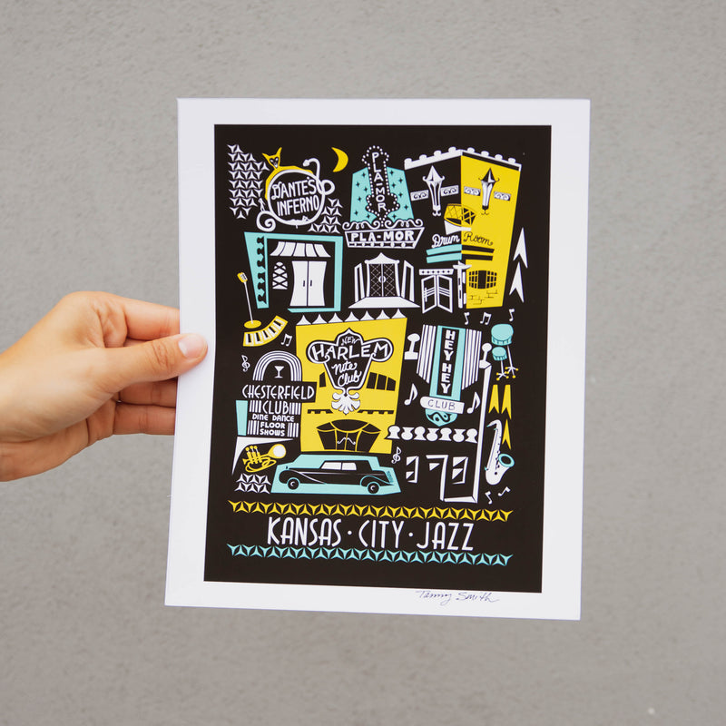 Tammy Smith 18th and Vine Print