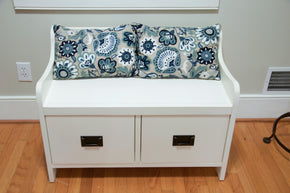 Pottery Barn Wade Bench with Drawers