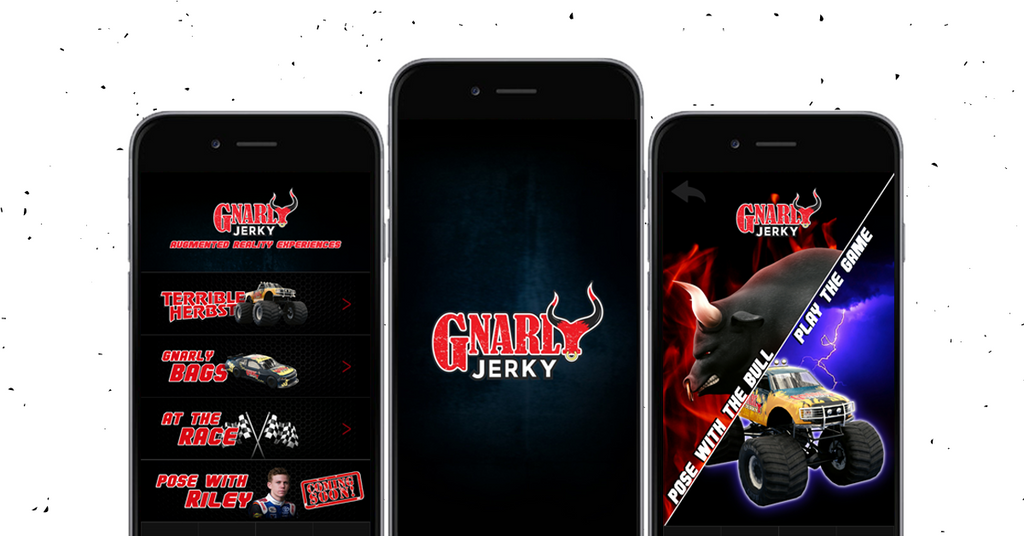The Gnarly Jerky Augmented Reality App is now live!